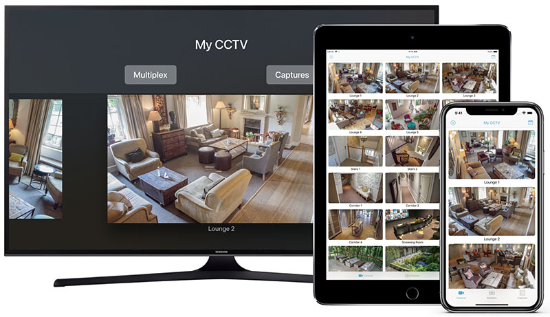 Ben Software releases new CCTV iPhone, iPad and Apple TV app Image