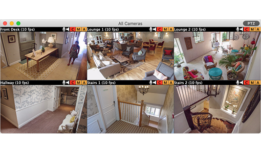 SecuritySpy 5.1: Update to macOS CCTV Software Image